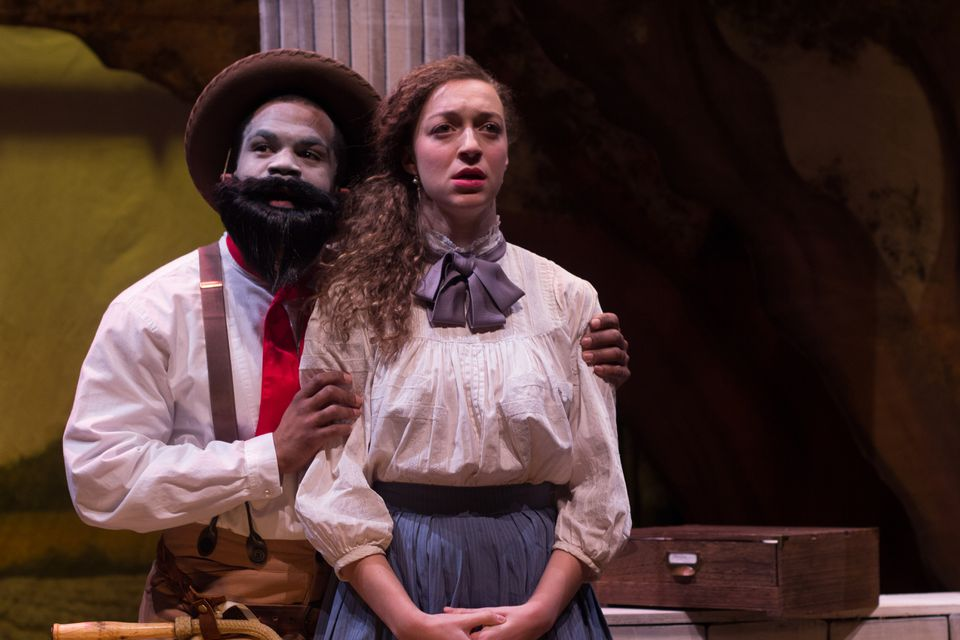 "Brandon Green and Shawna M. James in Company One Theatre and ArtsEmerson's ""An Octoroon."""