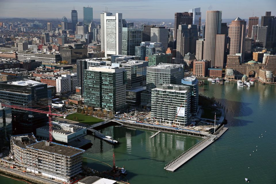 MassMutual says it will open a $50 million building at the Seaport's Fan Pier as part of a major expansion.