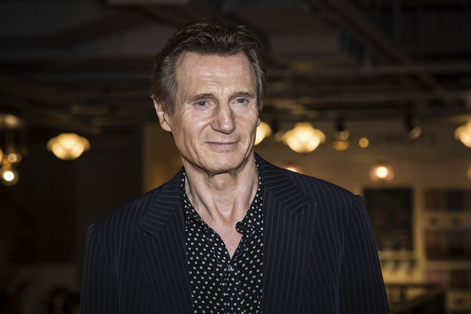 "Liam Neeson said his reaction to a friend's rape was ""horrible."""