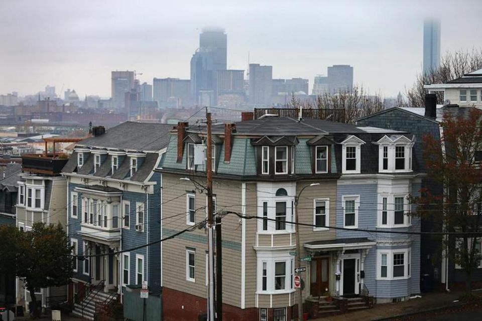 Homes in South Boston.