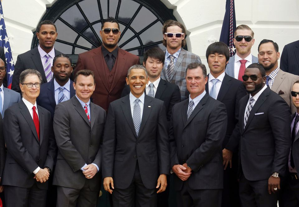 The last time the Red Sox went to the White House was in April 2014, when they were invited by President Obama.