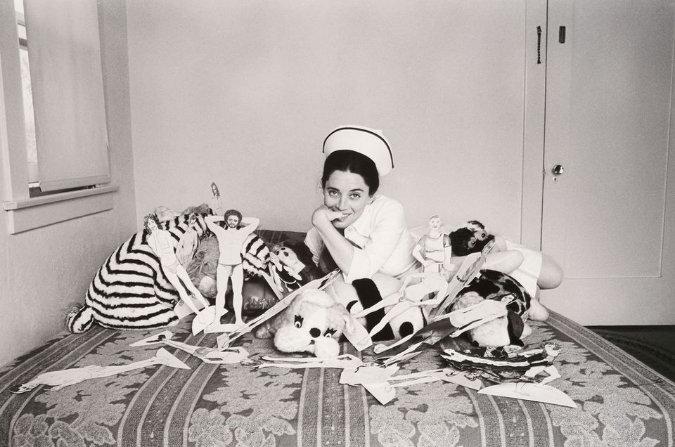 """Eleanor Antin's """"The Adventures of a Nurse,"""" from 1976."""