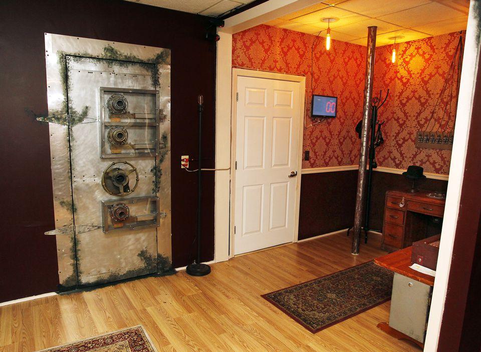 The Ex Machina room at Escape Rhode Island.