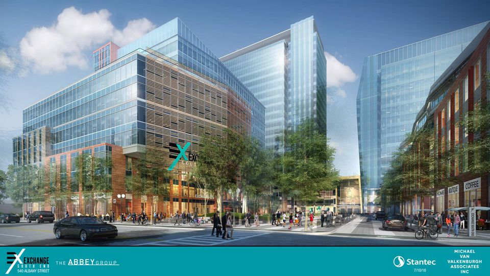 Exchange South End, a $1 billion, 1.6-million-square-foot complex, would replace what was the Boston Flower Exchange. Most of the exchange's vendors have moved to Chelsea.