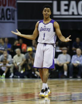 D'Angelo Russell showed a propensity for turnovers during summer league play.