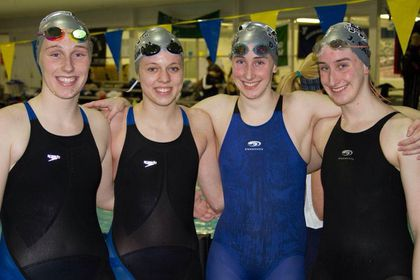 Sisters swimming to the top - The Boston Globe