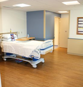 Beth Israel Deaconess Hospital-Plymouth recently added 10 in-patient rooms.
