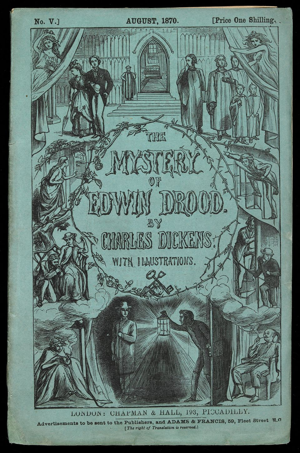 "Charles Dickens's novel ""The Mystery of Edwin Drood."