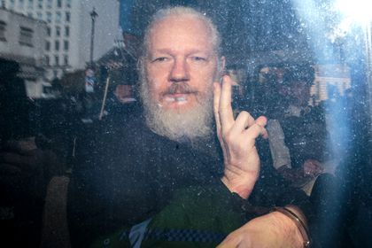 Assange will fight extradition to the US after being