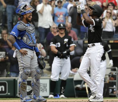 c4b9db536 How Tim Anderson chose to enjoy his home run on April 17 bothered the  Royals.