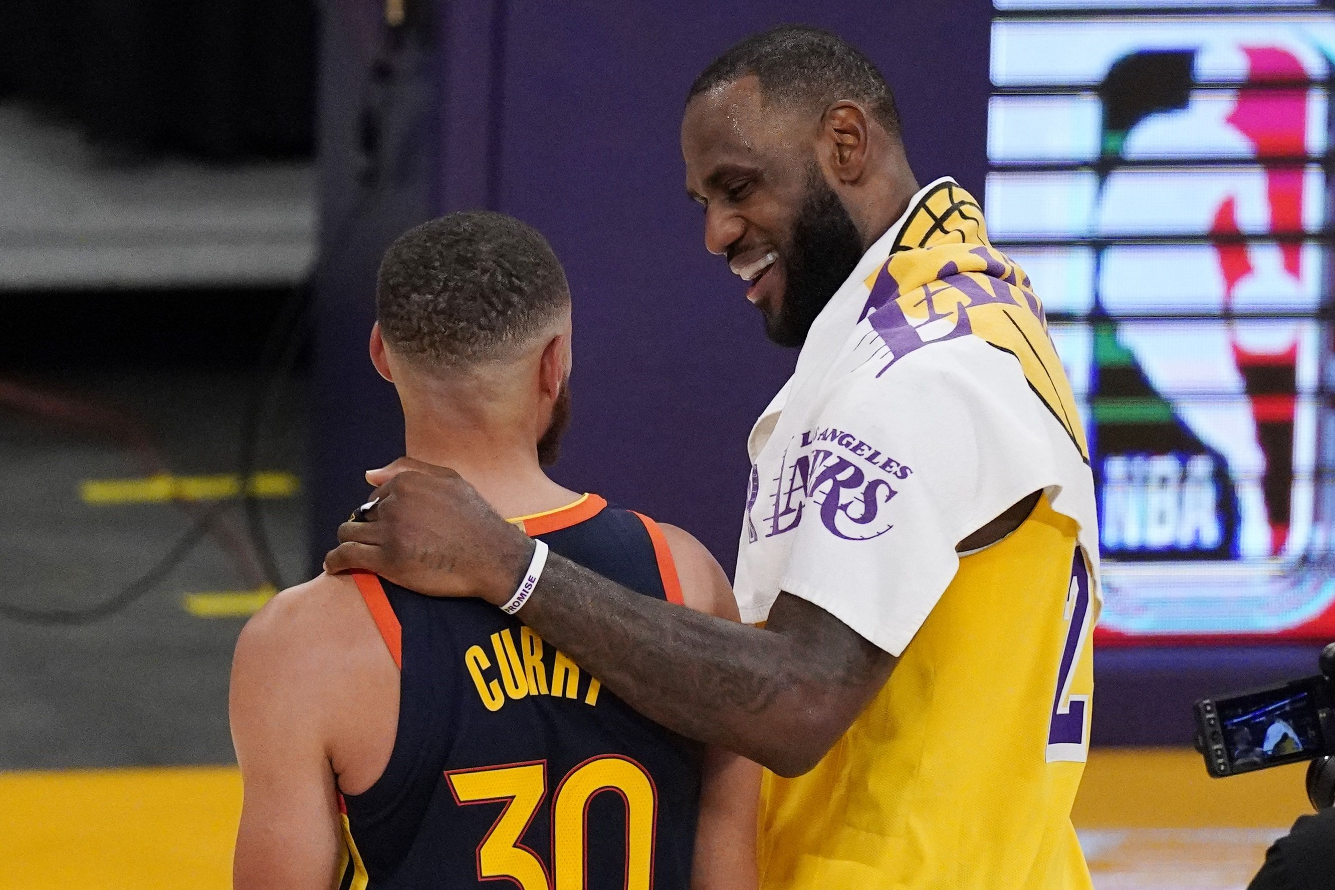 Warriors Lakers A Fortunate Play In Matchup For Nba Espn The Boston Globe