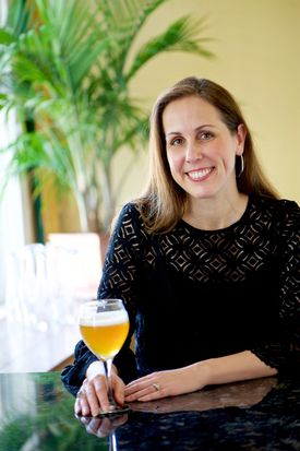 High Heel founder and brewmaster Kristi McGuire. .
