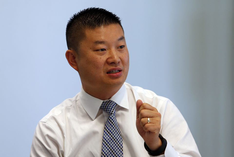 """""""I knew [being superintendent] was going to be political but until you do it you really have no sense,"""" Superintendent Tommy Chang said."""