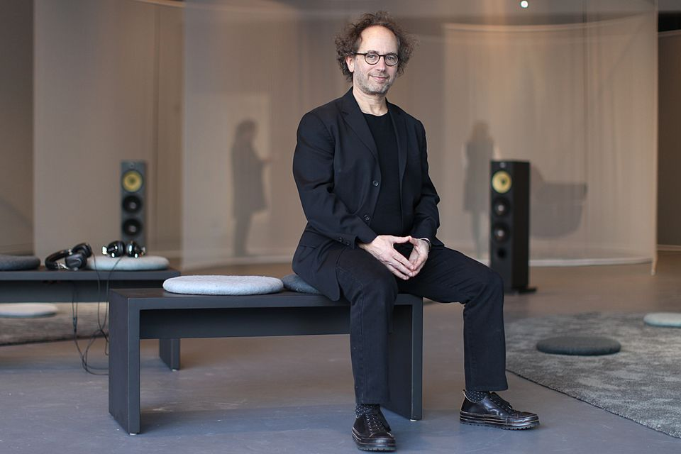 Composer-inventor Tod Machover has an accompanying work in the exhibit.