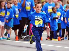 Bill and Denise Richard made a tradition of watching the Marathon near the finish line. As the kids got older, they participated in the weekend's events, such as the Boston Athletic Association relay race that Martin ran the Saturday before in 2013.