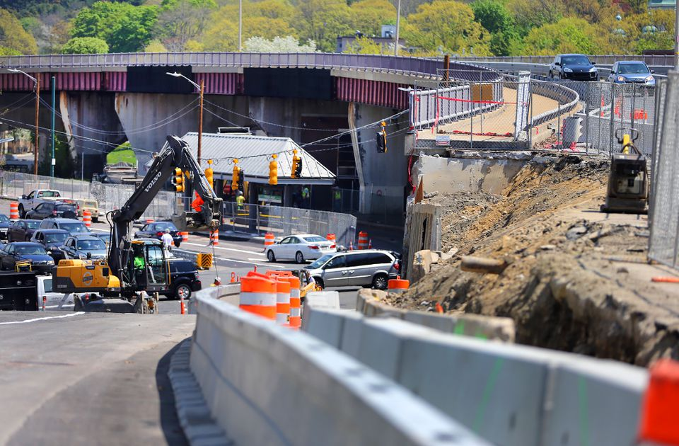 The overpass closes for good next weekend, and demolition is set for May 18.