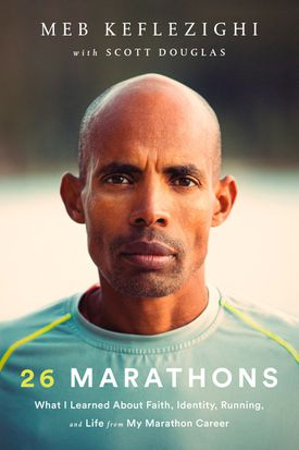"""Meb Keflezighi's book, """"26 Marathons: What I Learned About Faith, Identity, Running, and Life from My Marathon Career,"""" will be published by Rodale Books."""