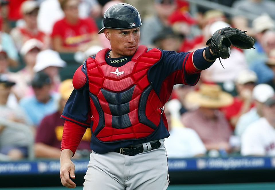 Sox catcher Christian Vazquez, who is coming off Tommy John surgery, decided to sit out after his Puerto Rico Winter League team folded.