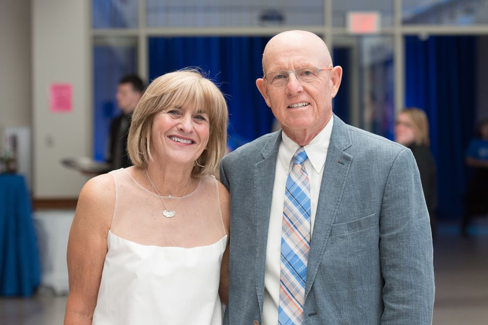 Nancy and Jim Coghlin Sr., at a fund-raiser for 15-40 Connection in 2015.
