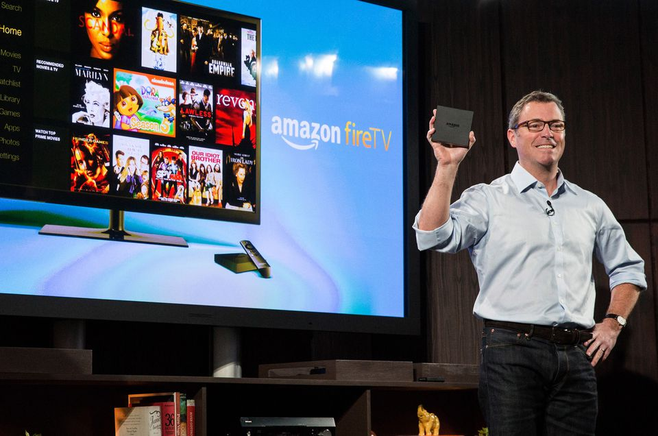 The Amazon Fire TV goes on sale today and costs $99.
