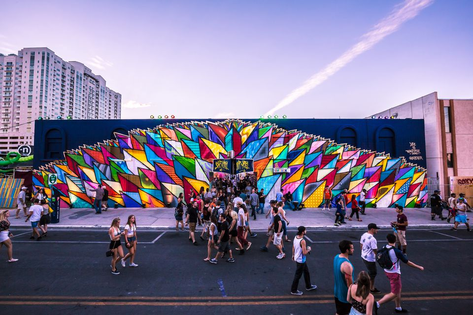 The Life is Beautiful festival in downtown Las Vegas.