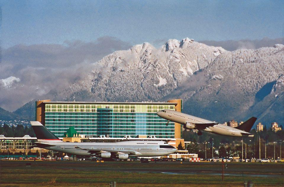 The Fairmont Vancouver hotel