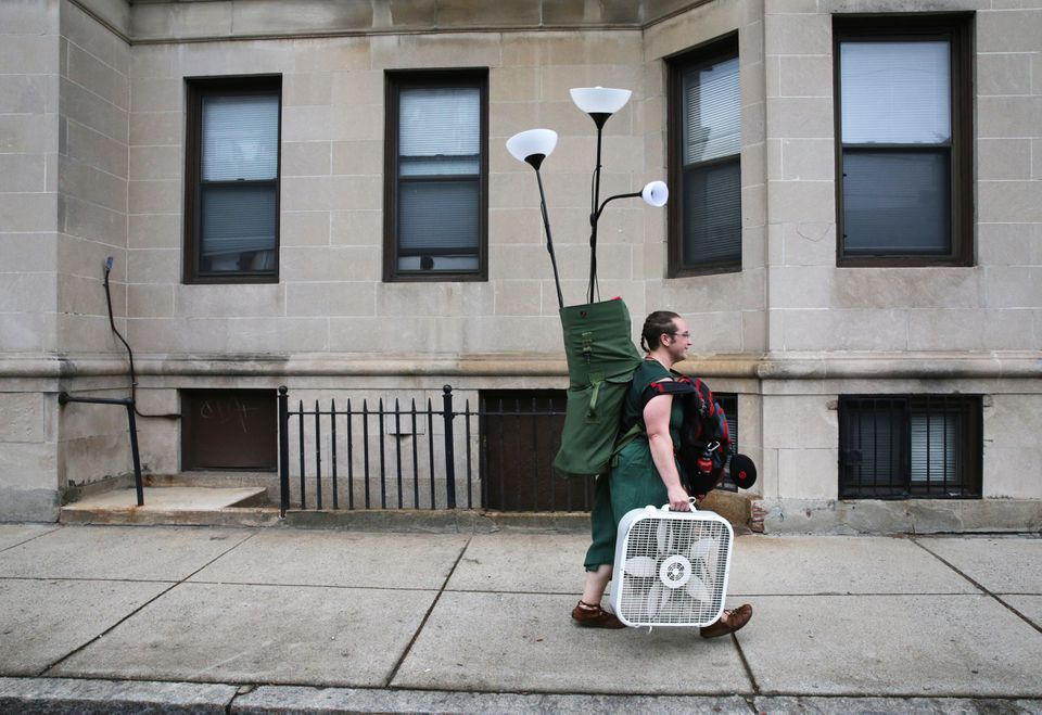 A first-year graduate student at Boston University, searched for apartment items on RedesdaleStreet in Allston.