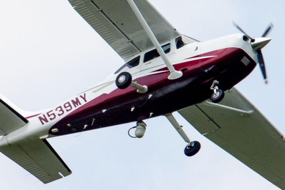 Laser light can prove a dangerous distraction for pilots