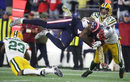 a924c134ed1 Josh Gordon caught five passes for 130 yards and a touchdown in the  Patriots' win