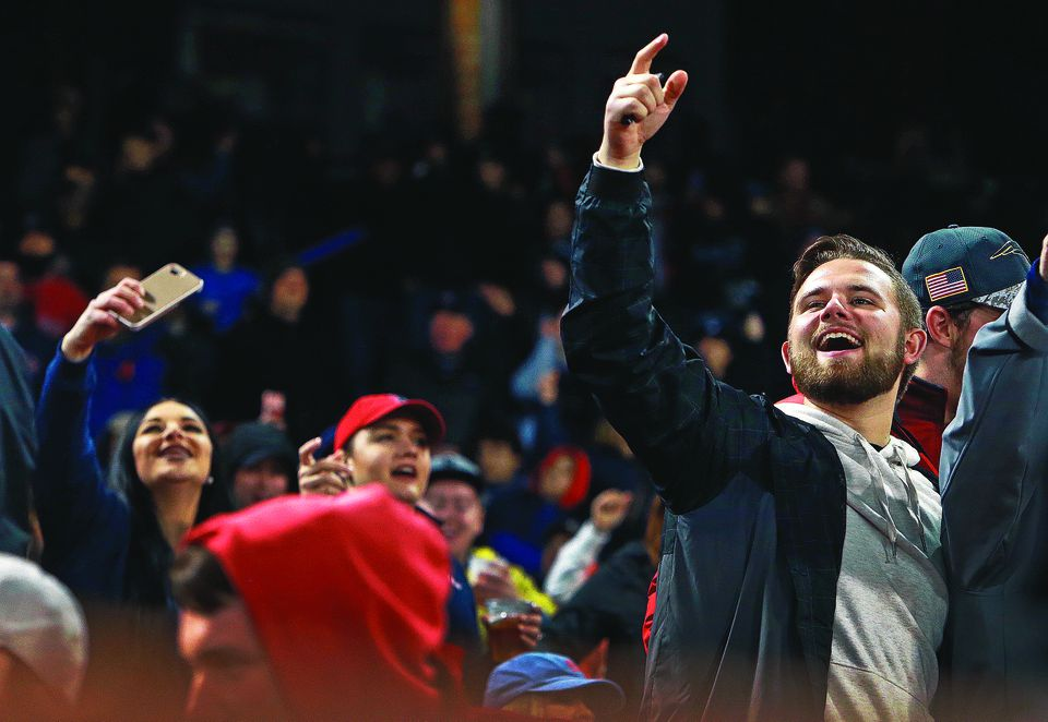 """The playing of """"Sweet Caroline'' in the middle of the eighth inning still rouses many of the Fenway Park faithful."""