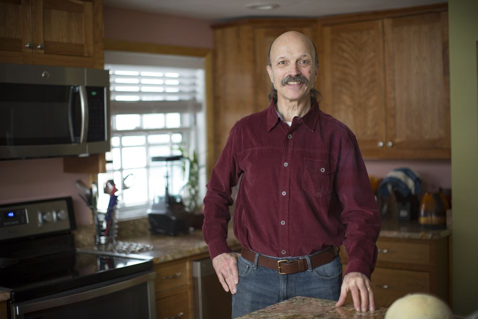 After his insurer changed its policy on paying for hepatitis C drugs, John Tortelli of Arlington, pictured in April, began treatment with the drug Harvoni.