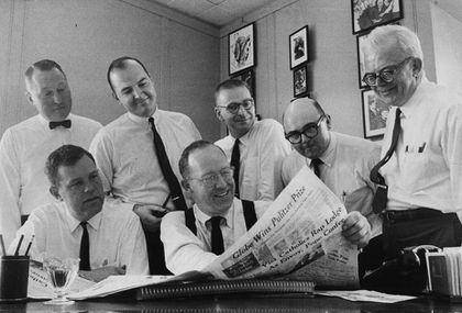 A distinguished history of digging up the truth - The Boston Globe