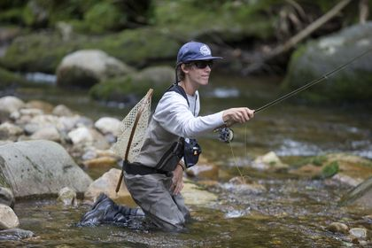 Weston athlete excelling on big fly fishing stage - The Boston Globe