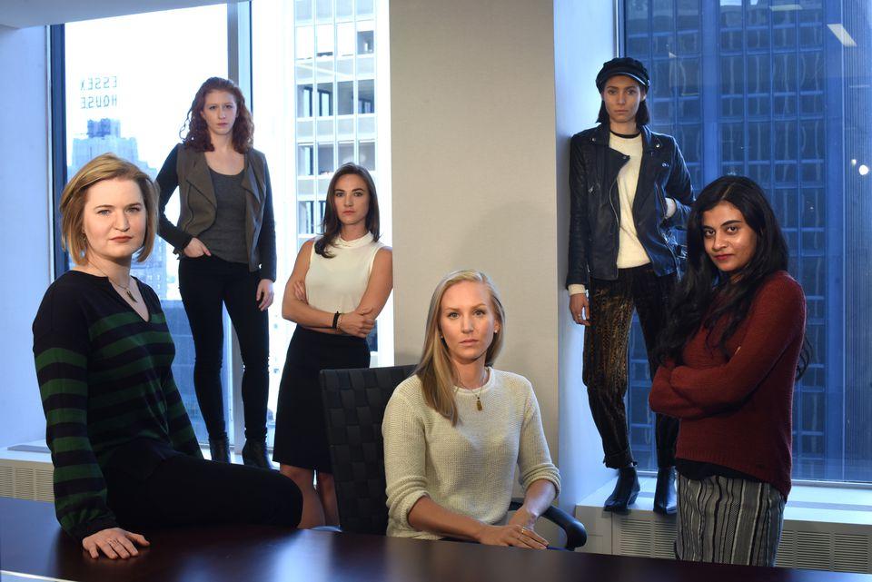 Left to right, Annemarie Brown, Sasha Brietzke, Andrea Courtney, Kristina Rapuano, Marissa Evans, and Vassiki Chauhan.