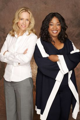 Betsy Beers and Shonda Rhimes.