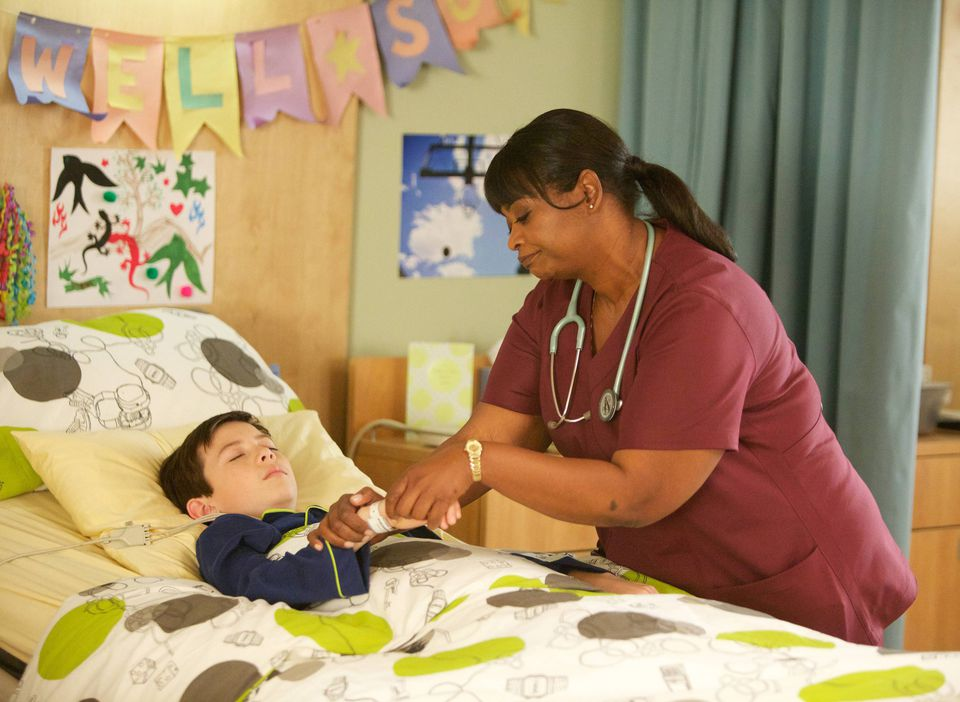 """Griffin Gluck and Octavia Spencer and in Fox's young adult drama """"Red Band Society,"""" set in a pediatric hospital ward with teenagers facing serious illnesses."""