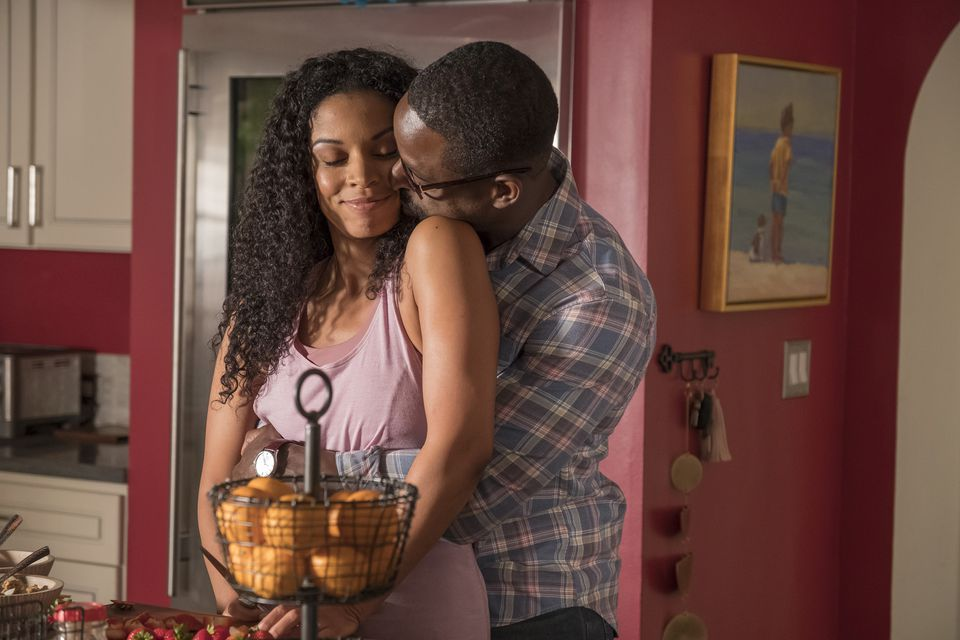 "Susan Kelechi Watson (left) and Sterling K. Brown are two of the stars of NBC's ""This Is Us."""