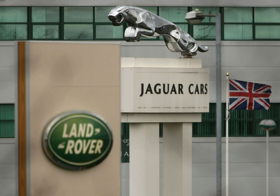 British carmaker Jaguar Land Rover said Thursday it would reduce its global workforce by 4,500 people.