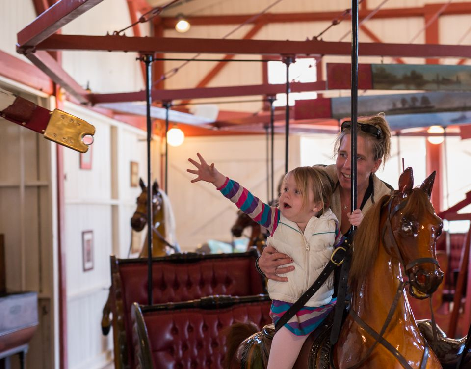 Flying Horses Carousel.