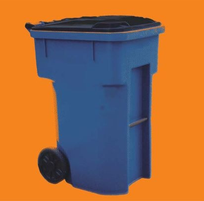 Are big blue bins bad for recycling? - The Boston Globe