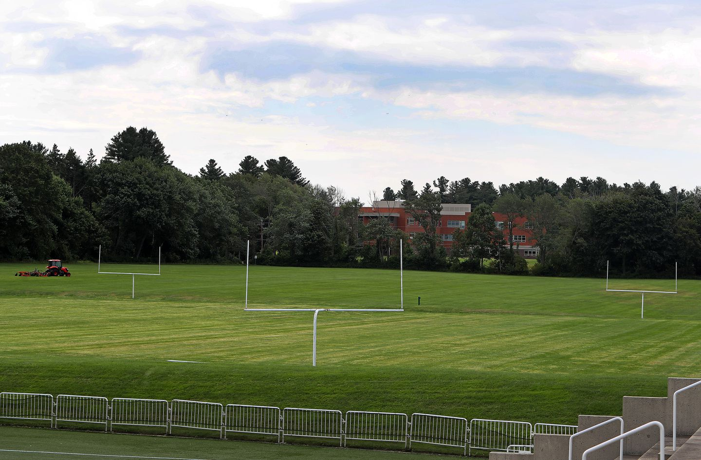 """The area next to the football field at Phillips Academy is known to students as """"Siberia."""""""