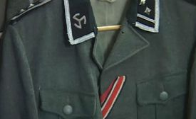 Schilling also may have to sell a German SS soldier's uniform jacket.
