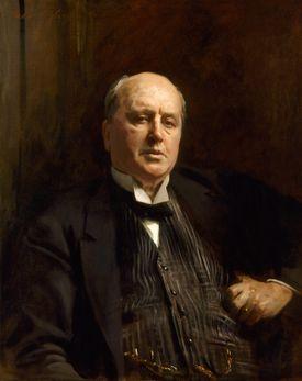 """""""Henry James,"""" John Singer Sargent, 1913."""