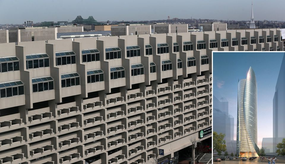 The Government Center Garage in Boston and what the future may hold for the site.