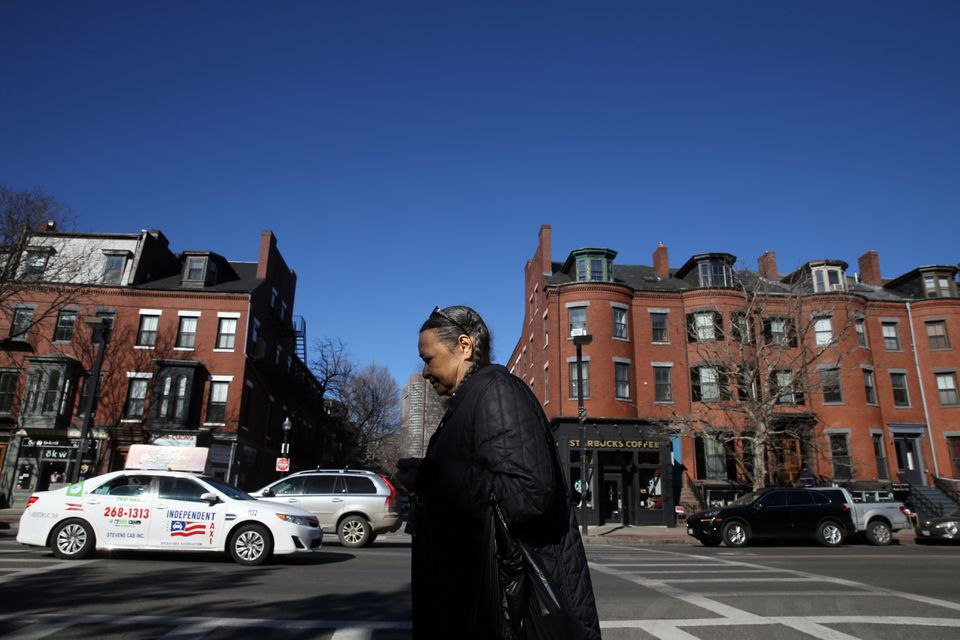 Carmen Barrientos has seen many changes in the South End over the past 60 years.