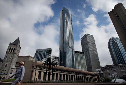 One Dalton, Boston's commanding new skyscraper, conjures
