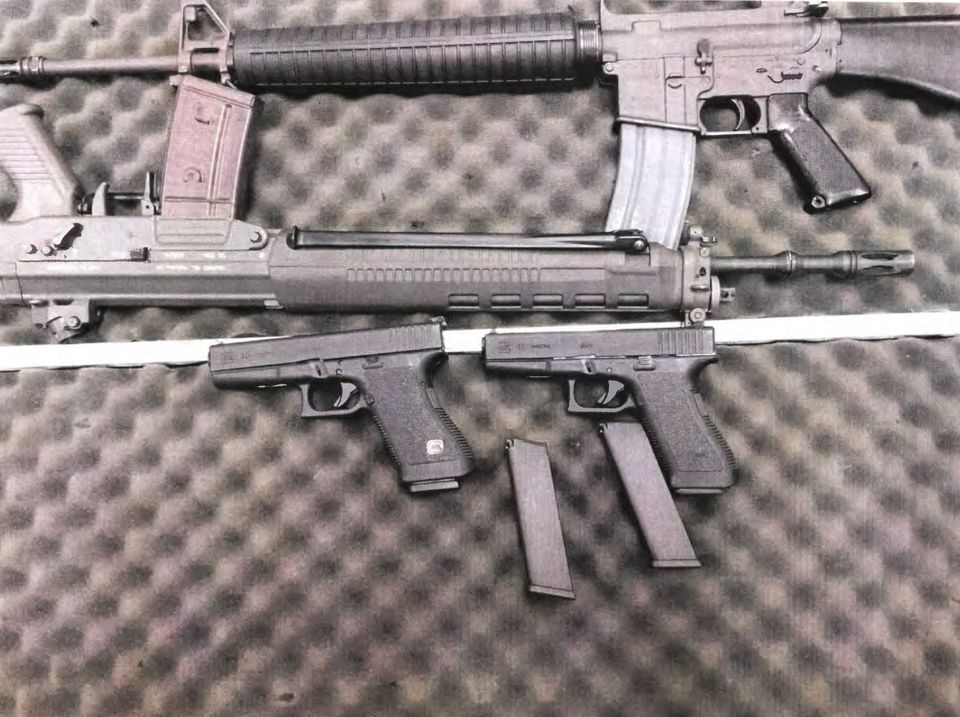 Alexander Ciccolo allegedly received a delivery of four guns on July 4.