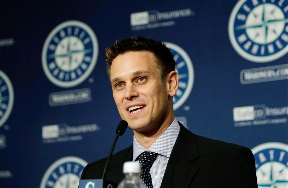 New Seattle Mariners general manager Jerry Dipoto.