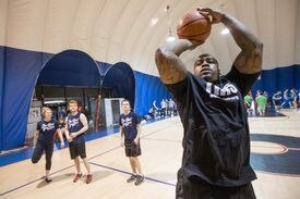 A charity basketball tournament was sponsored by nonprofit Technology Underwriting Greater Good.