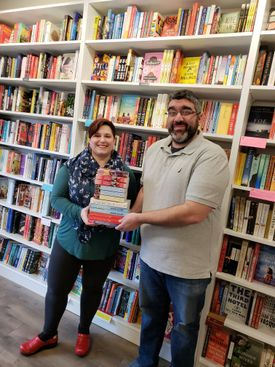 A Whirlwind Romance, a romance book pop-up shop run by booksellers Clarissa Murphy and Paul Swydan, will debut on Sunday, Feb. 10, in Somerville's Union Square.